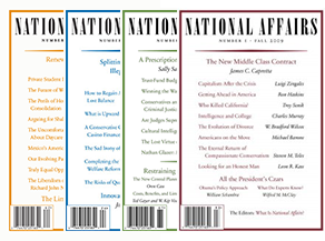 Subscribe to National Affairs.